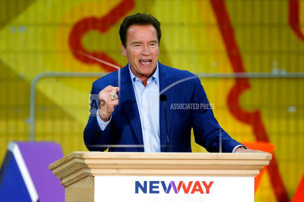 LOS ANGELES |  Arnold Schwarzenegger: 'I'm good' but 'not great yet'