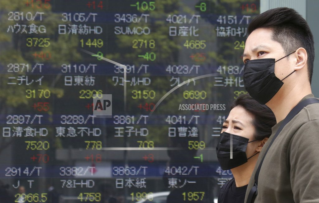 Asian shares meander following US-led air strikes on Syria