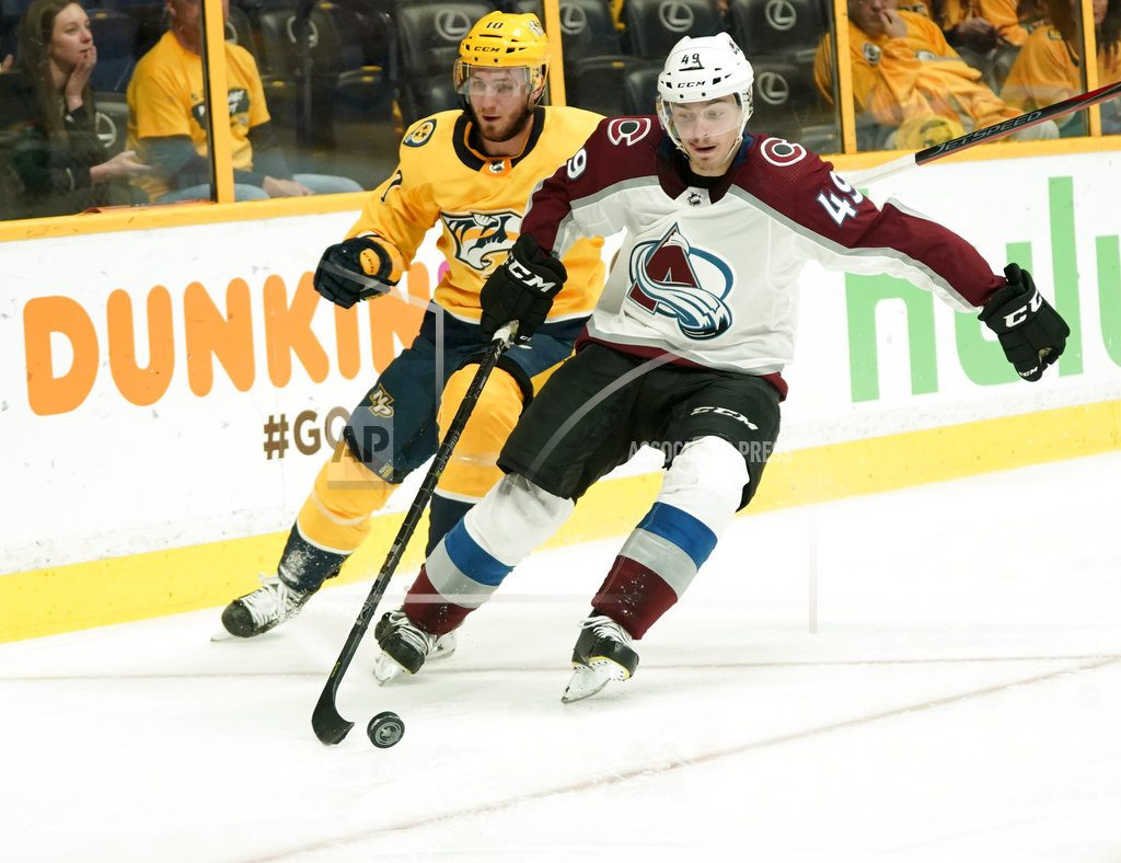 NASHVILLE, Tenn. | Avalanche stay alive, beat Predators 2-1 to force Game 6