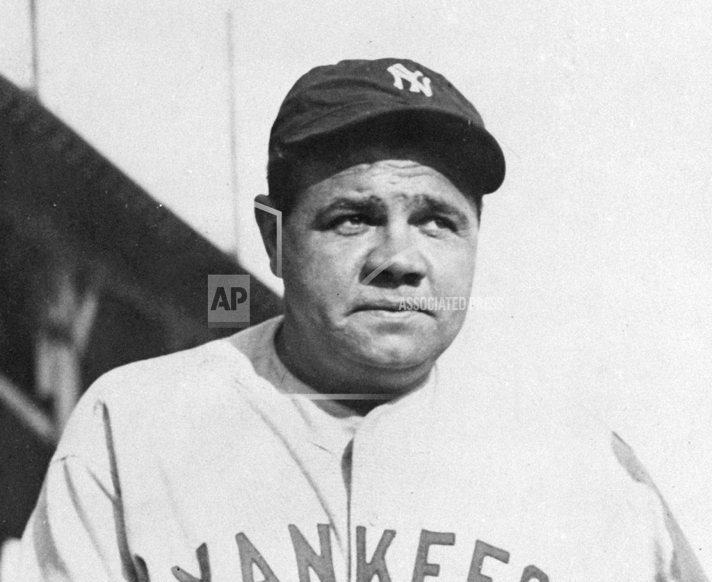NEW YORK | A tale of 2 bats, and Babe Ruth's 60th home run in 1927