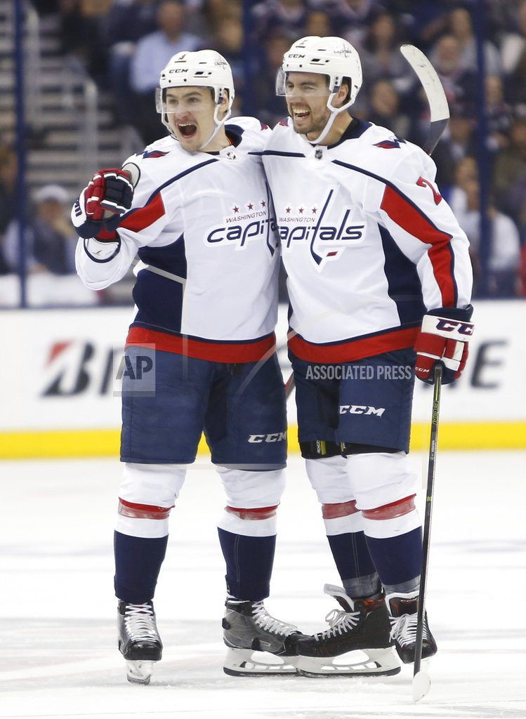 COLUMBUS, Ohio | Caps roll over Blue Jackets, look to nemesis Pittsburgh