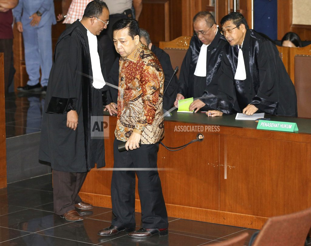 JAKARTA, Indonesia  | Corrupt Indonesia politician gets 15 years prison