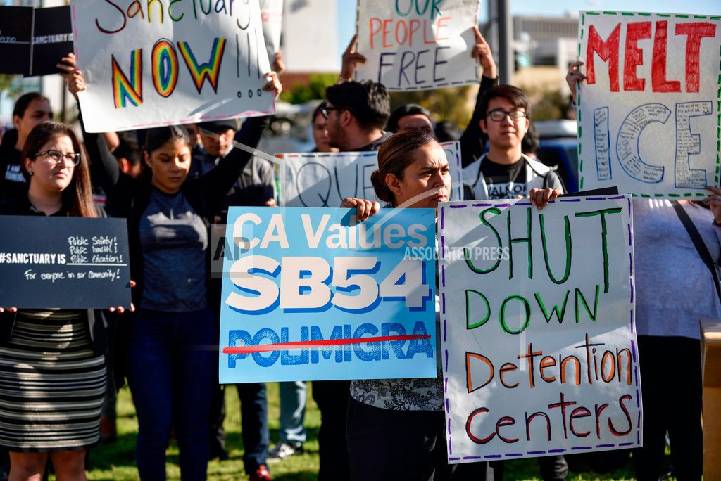 SAN DIEGO | Another California county backs Trump's 'sanctuary' lawsuit