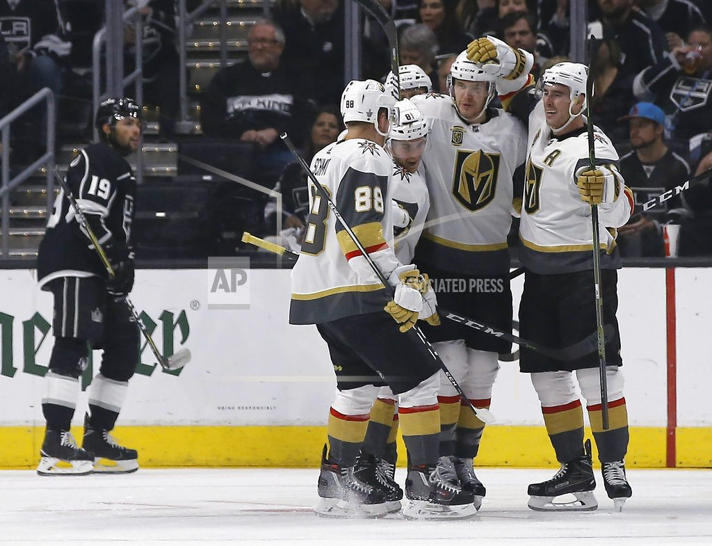 LOS ANGELES | Hitting the jackpot: Knights sweep Kings with 1-0 win