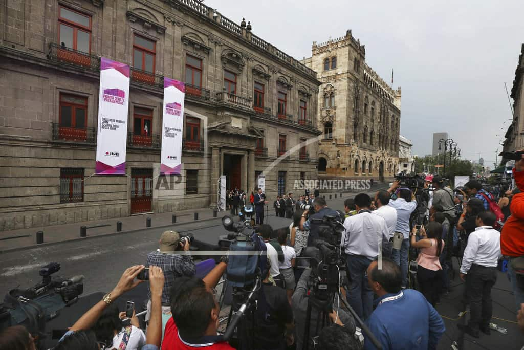 MEXICO CITY | Mexico holds its first presidential debate for July election