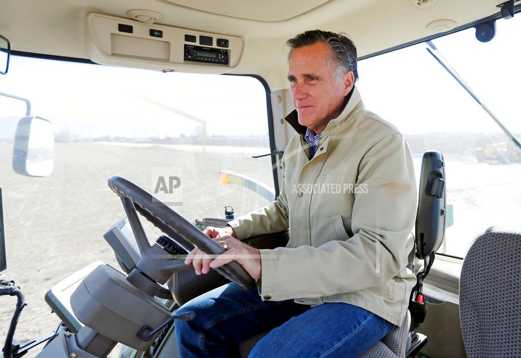 WEST VALLEY CITY, Utah | Romney seeks Utah Republican Party nomination at convention