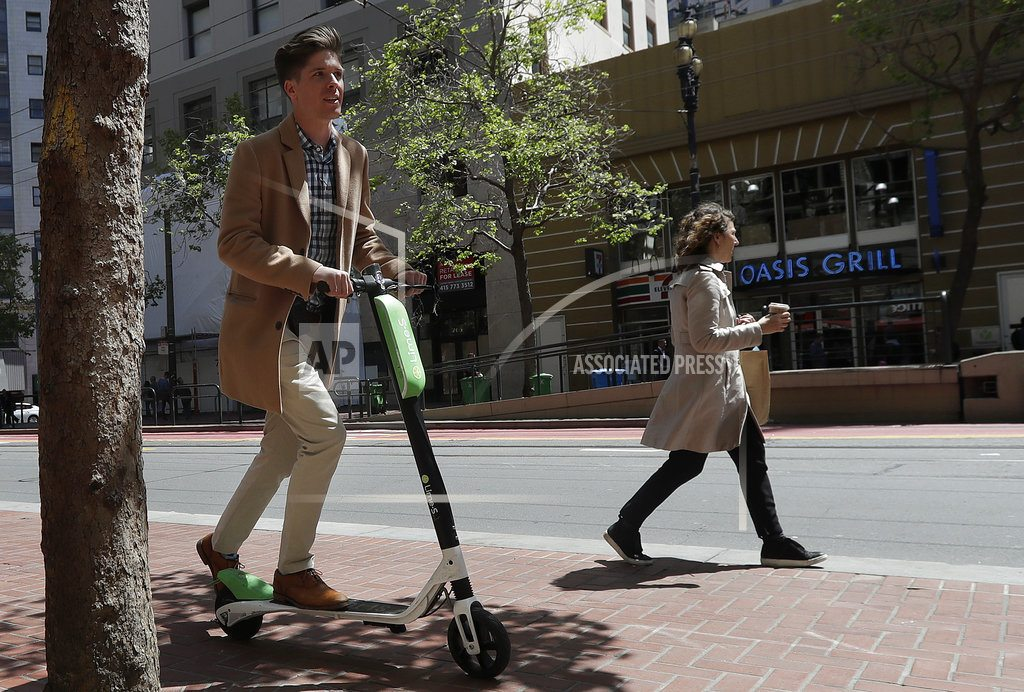 SAN FRANCISCO | San Francisco to require permits for rental scooters