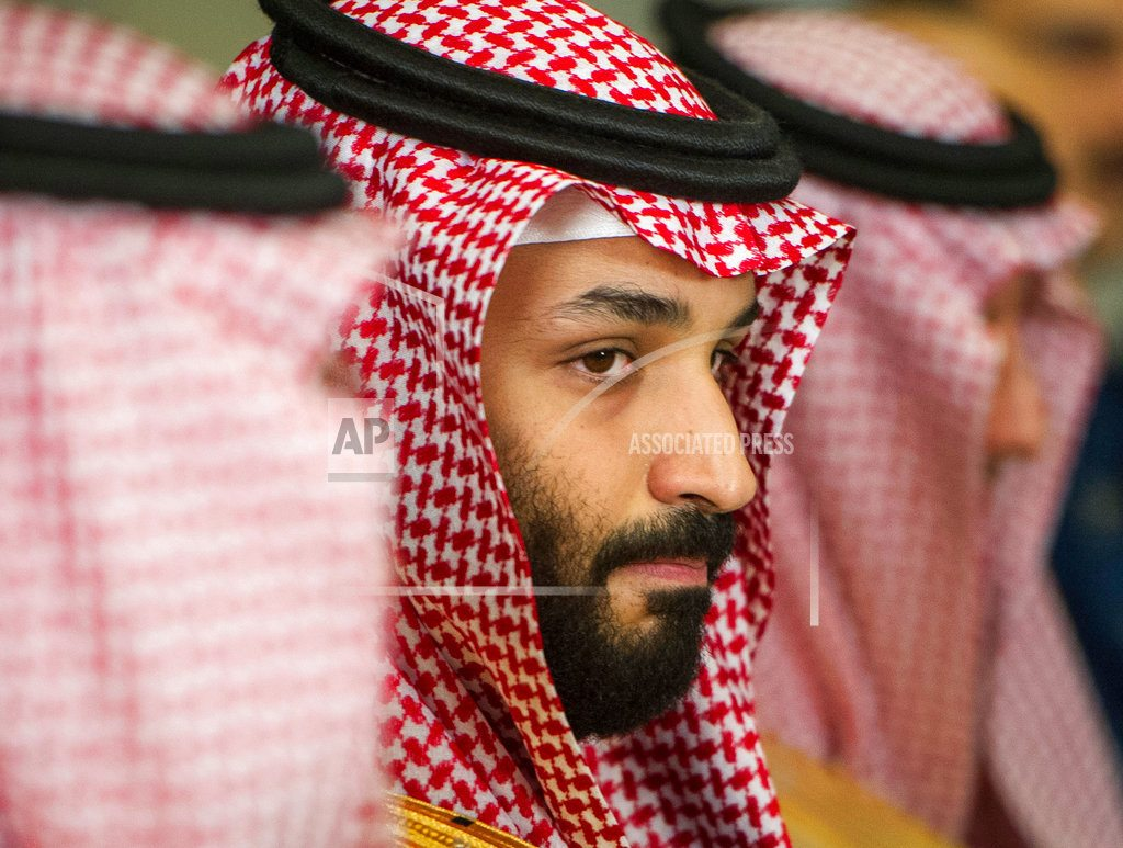 PARIS | Dinner at the Louvre, protests greet Saudi prince in France