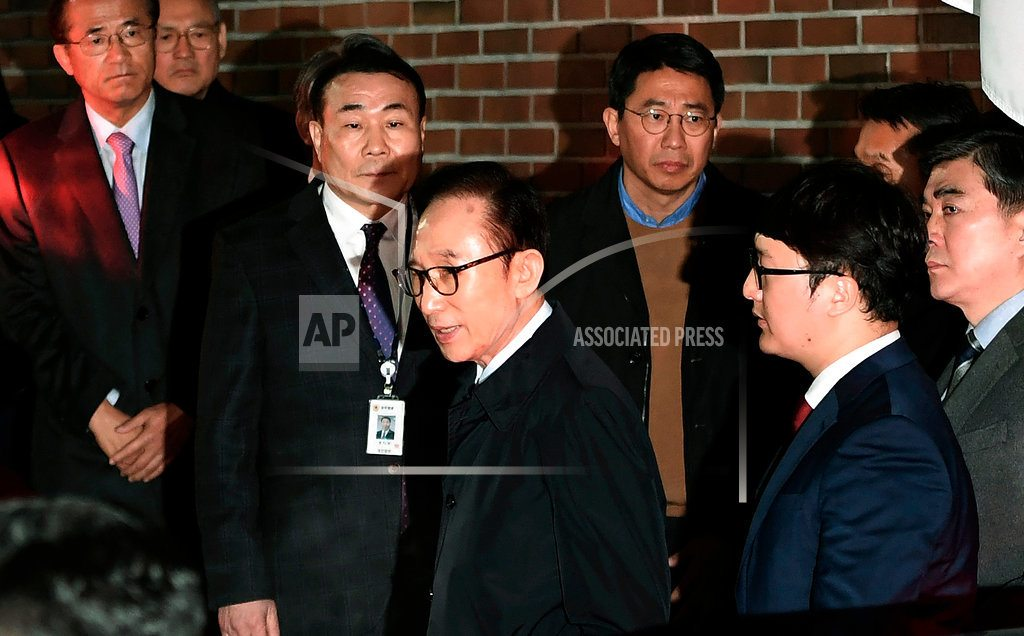 SEOUL, South Korea | Another former South Korean leader charged with corruption