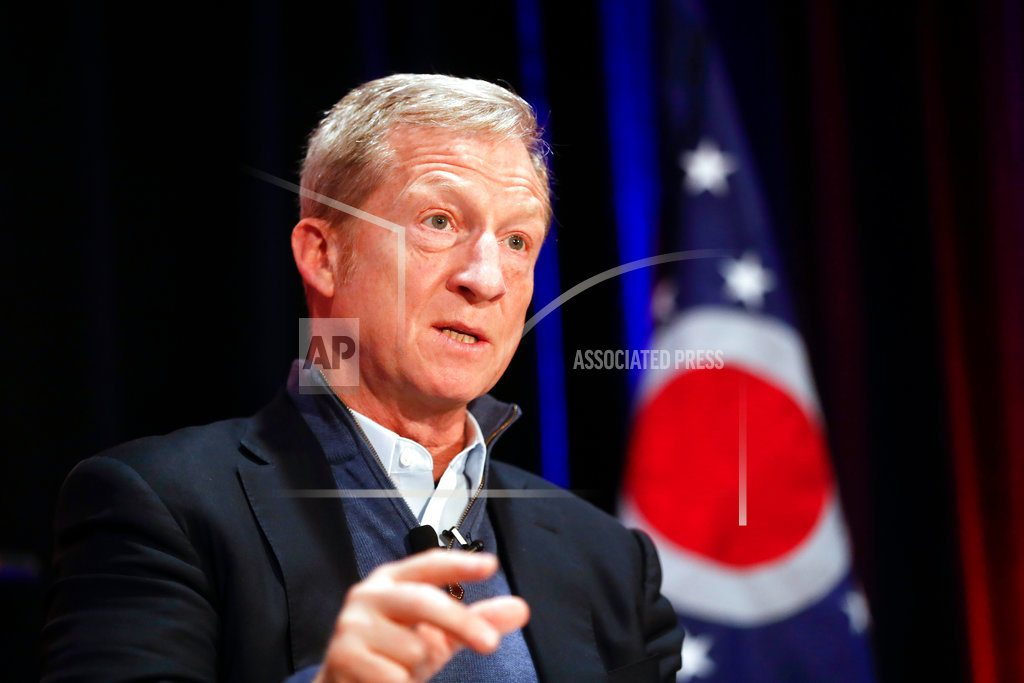 ATLANTA |  Steyer's talk of impeaching Trump not appealing to Dems