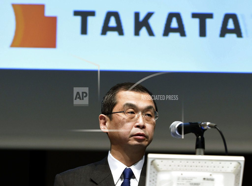 TOKYO | Takata acquired by Key Safety Systems, president resigns