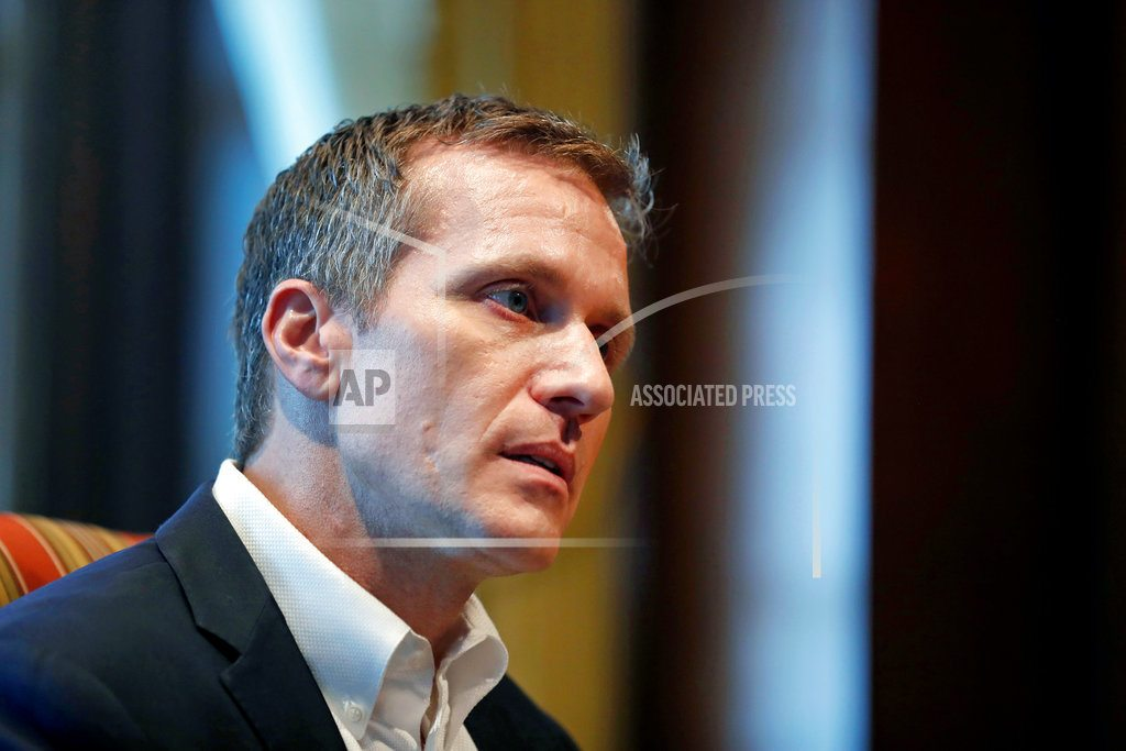 JEFFERSON CITY, Mo. | Report: Missouri Gov. Greitens initiated unwanted sex acts