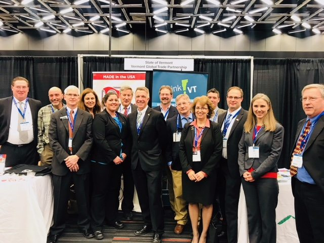 Vermont Governor Scott, officials from the Agency of Commerce & Community Development Join Vermont Companies at Aerospace Forum