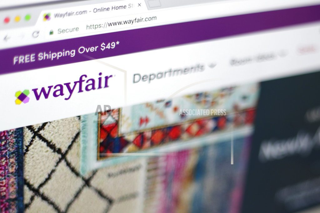 NEW YORK | Wayfair follows Amazon with its own made-up holiday: Way Day