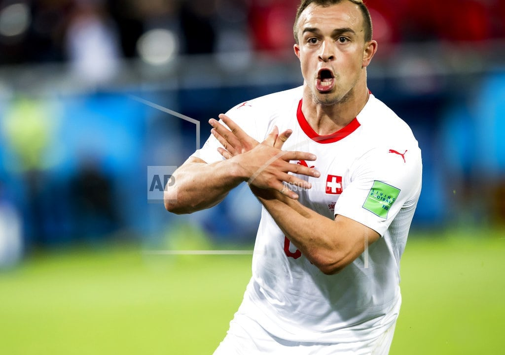 KALININGRAD, Russia   Serbs angrier at World Cup ref than at nationalist gestures
