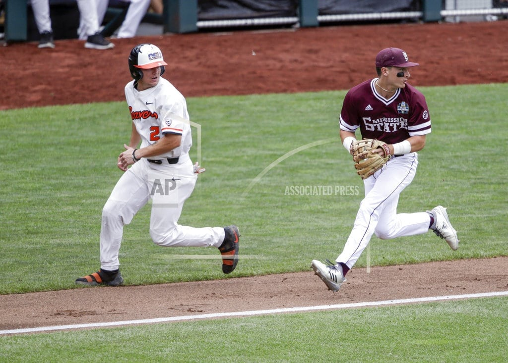 OMAHA, Neb | Oregon St. offense keeps humming in 12-2 win over Miss. St.