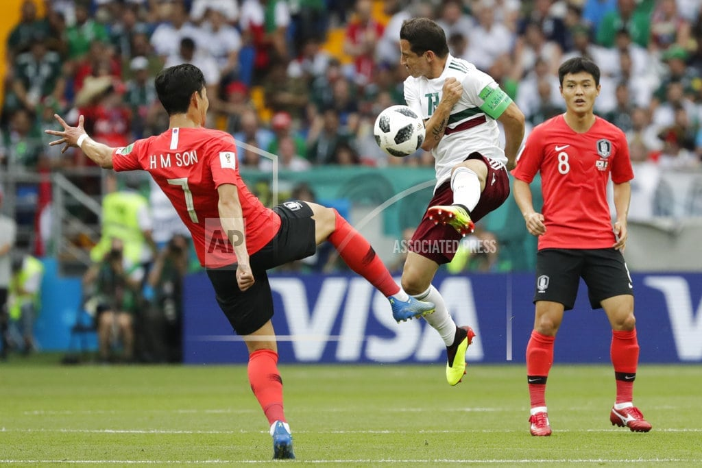 ROSTOV-ON-DON, Russia   Mexico wins again at World Cup, beats South Korea 2-1