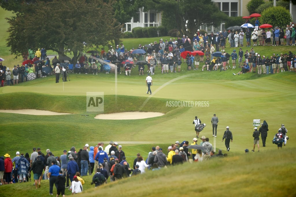 CROMWELL, Conn   Paul Casey shoots 62 to take 4-shot lead in Travelers