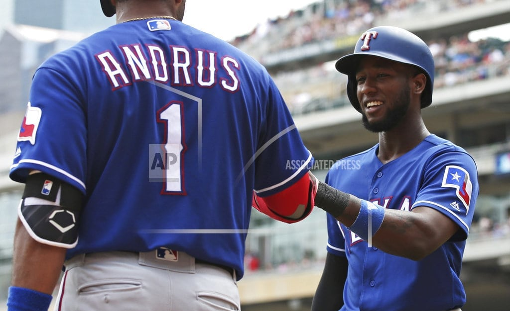 LEADING OFF: Rangers-Twins get testy, Reds on grand run