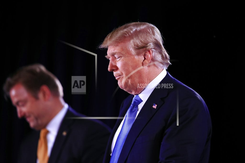 LAS VEGAS   Trump pushes tough immigration stance in Nevada appearance