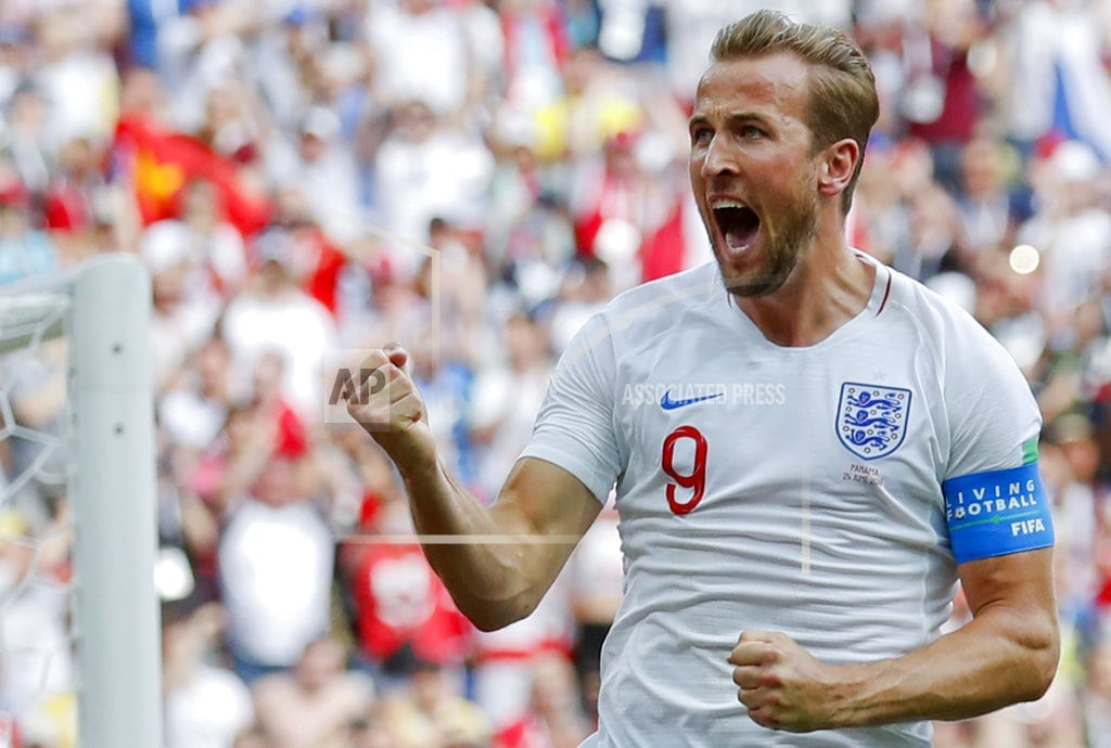 MOSCOW | The Latest: Kane completes hat-trick for England v Panama
