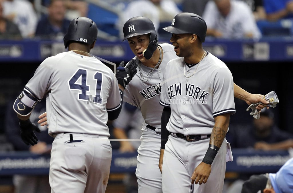 ST. PETERSBURG, Fla. | Bauers homers in 12th, Rays sweep Yankees with 7-6 win
