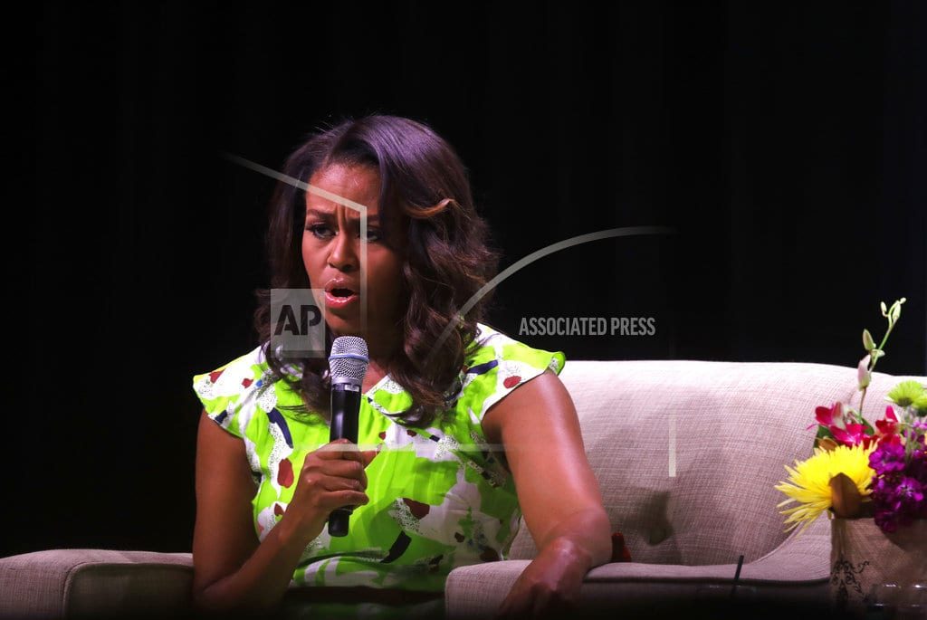 NEW ORLEANS | Michelle Obama's memoir conveys lessons of an eventful life