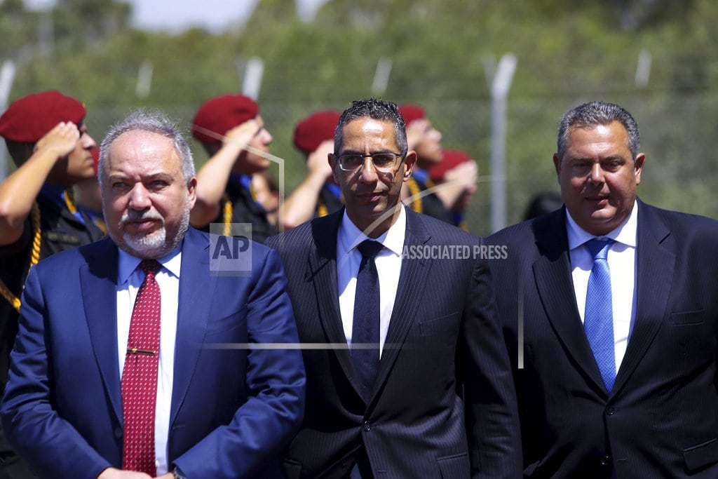 LARNACA, Cyprus | Cyprus, Israel, Greece pledge deeper military ties