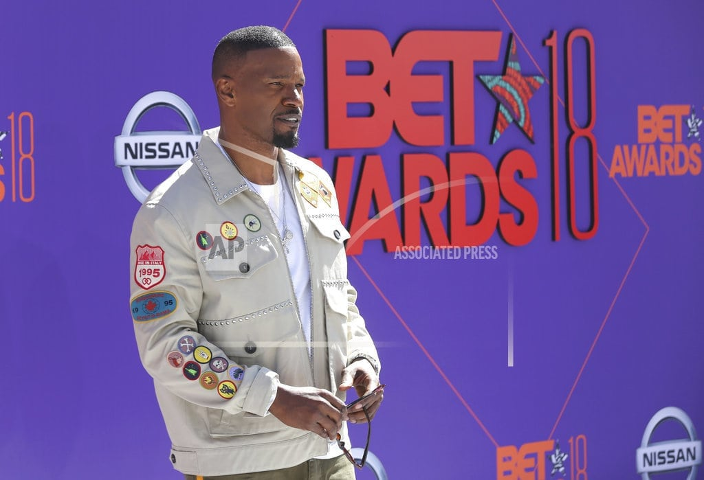 LOS ANGELES  | The Latest: Meek Mill debuts 'Stay Woke' song at BET Awards