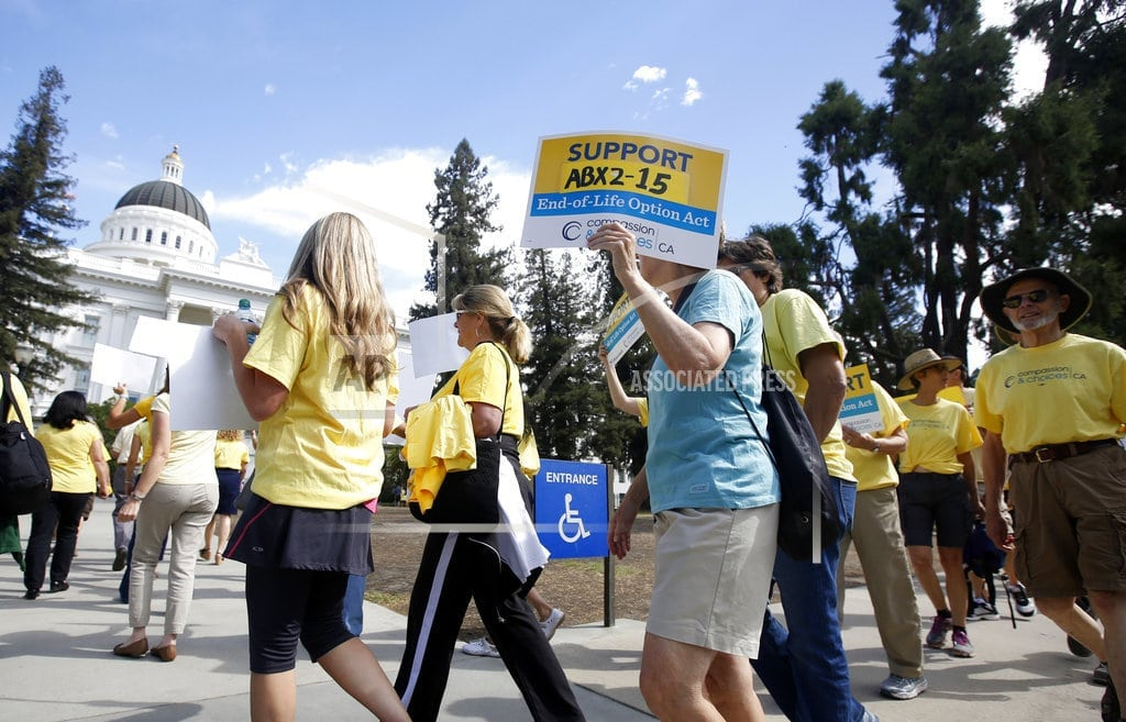 California News: Nearly 400 people used California assisted death law in 2017