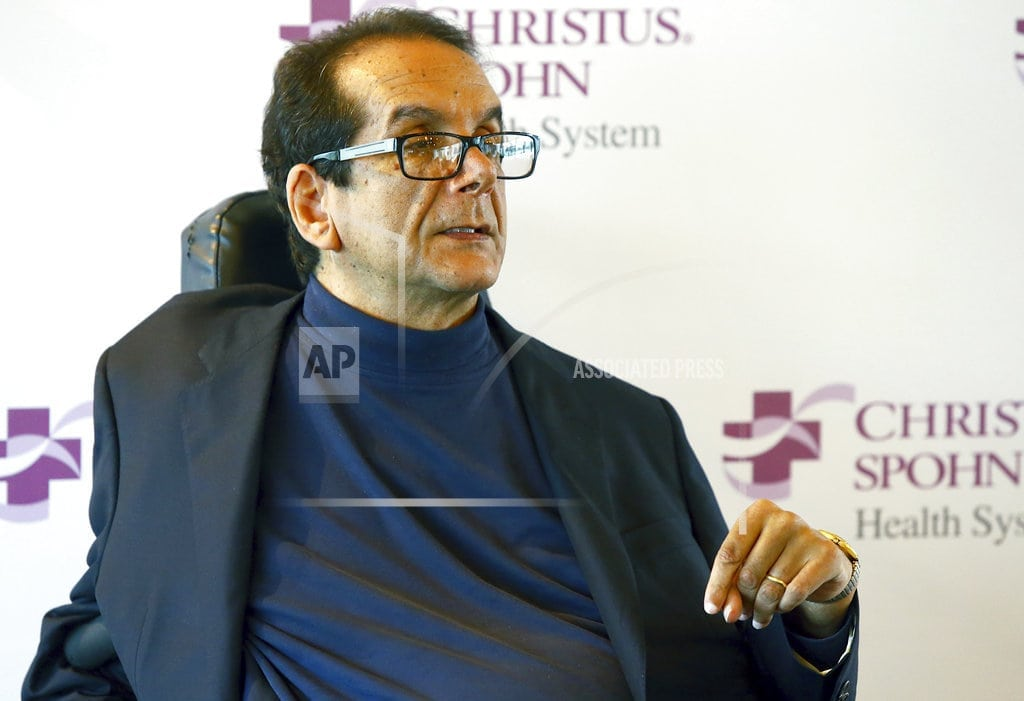 NEW YORK  | Charles Krauthammer, conservative columnist and pundit, dies
