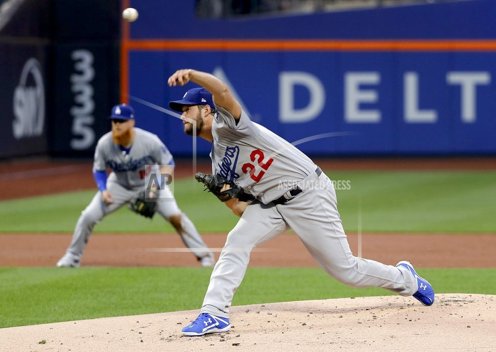 NEW YORK   Kershaw dazzles, then struggles in 3-inning return from DL