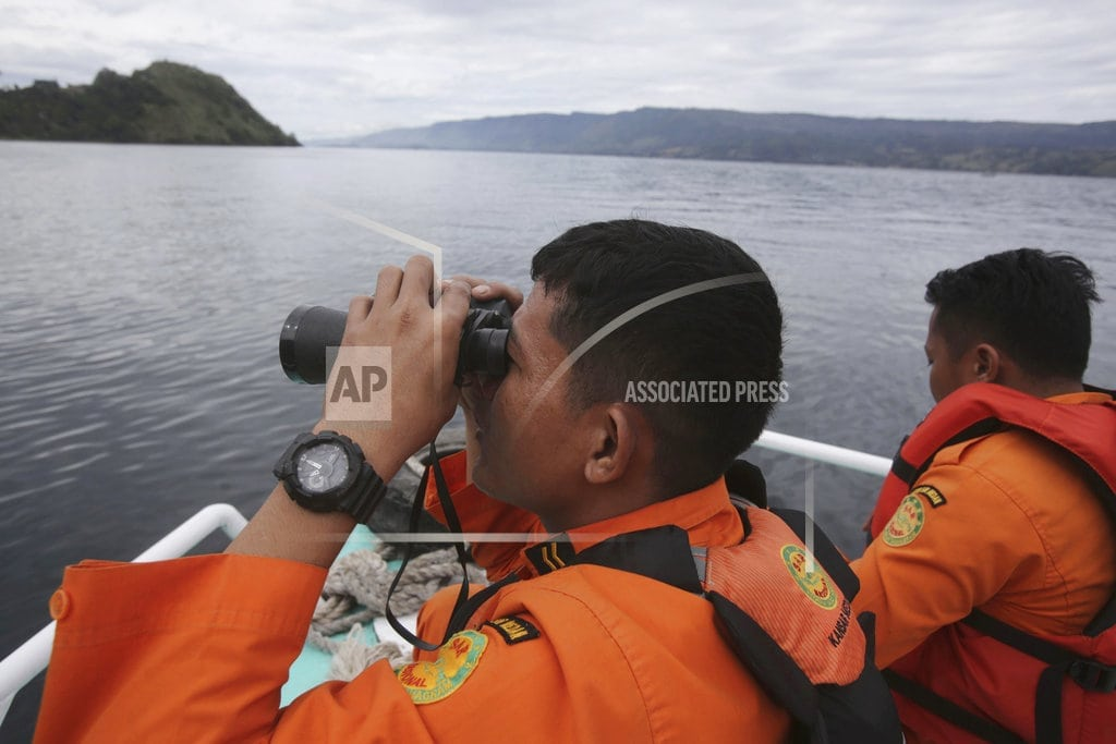 JAKARTA, Indonesia  | Indonesia identifies likely location of ferry in crater lake