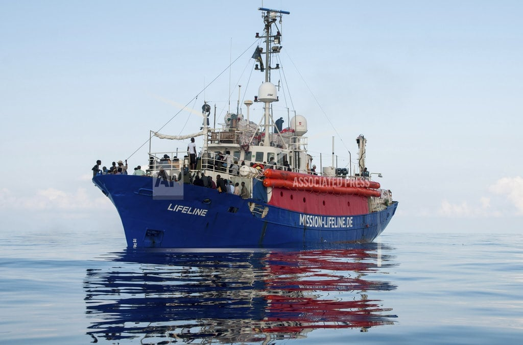 BRUSSELS | The Latest: Italy's 5-Stars: Migration 'hypocrisy' must end
