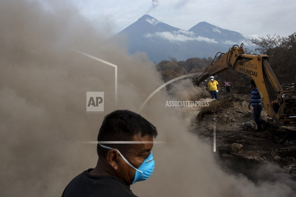 GUATEMALA CITY | Guatemala ups number of missing to 332 in volcano eruption
