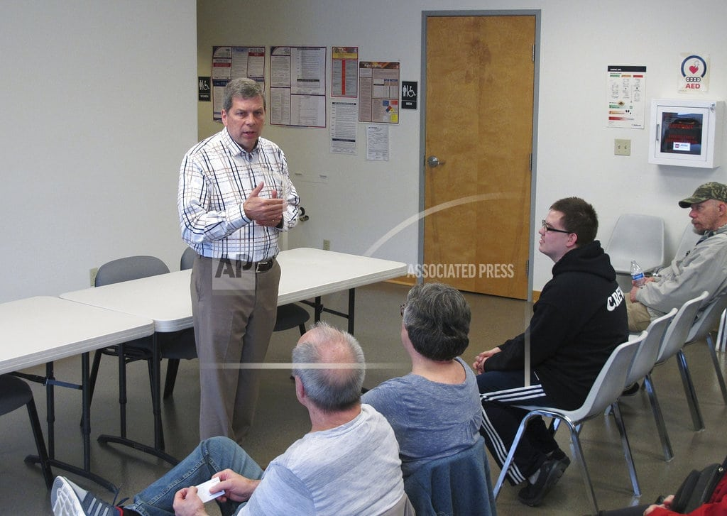 JUNEAU, Alaska | Ex-Sen. Begich faces angst in 3-way Alaska governor's race
