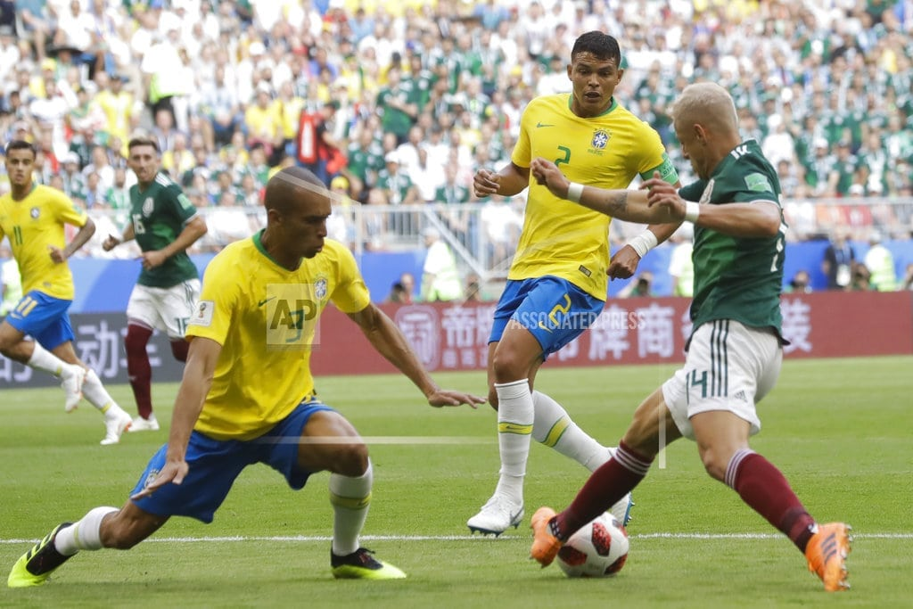 KAZAN, Russia | O Monstro' Thiago Silva back to his best in Russia