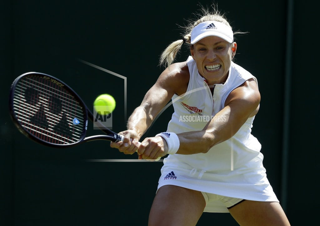 LONDON | The Latest: Top-ranked Halep wins easily at Wimbledon