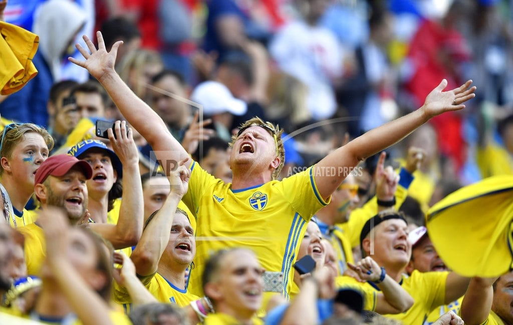 ST. PETERSBURG, Russia | Forsberg, the quiet heir to Ibrahimovic, delivers for Sweden