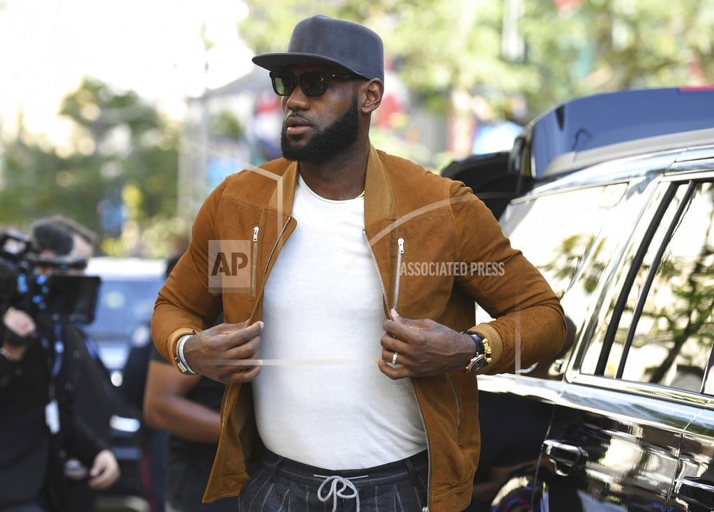LOS ANGELES | Will LA mean LeBron behind the scenes and on the big screen?