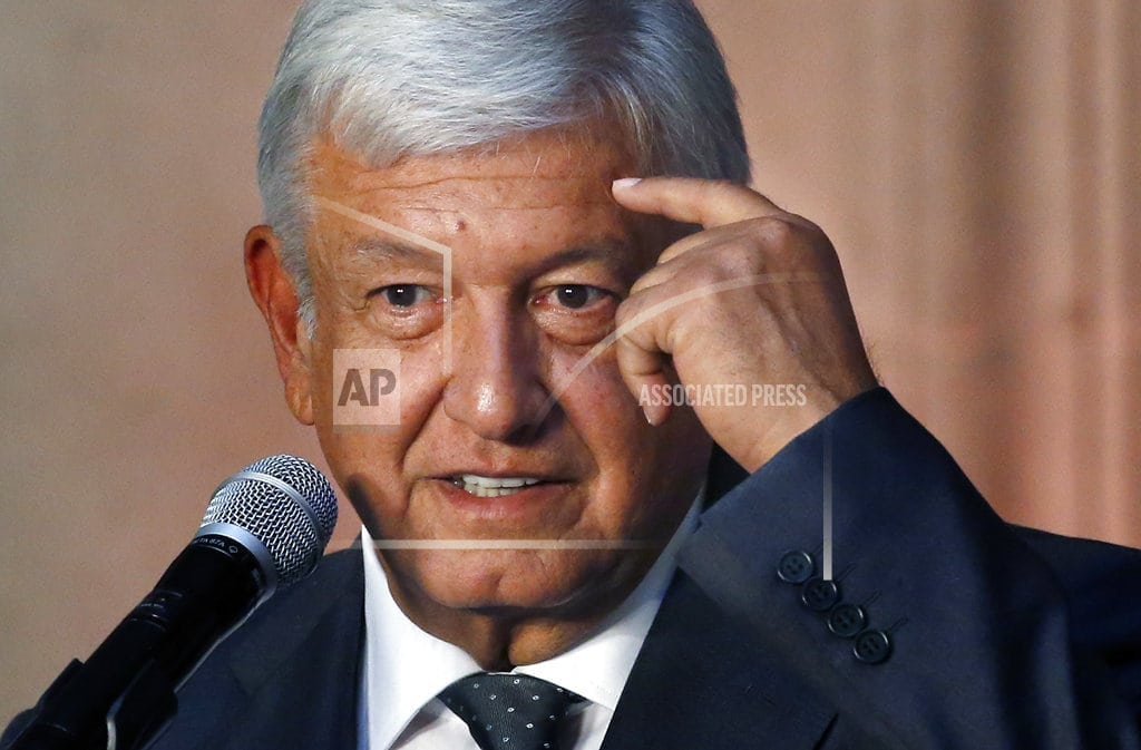 MEXICO CITY | Mexico's Lopez Obrador sets $7.5 billion for youths, elderly