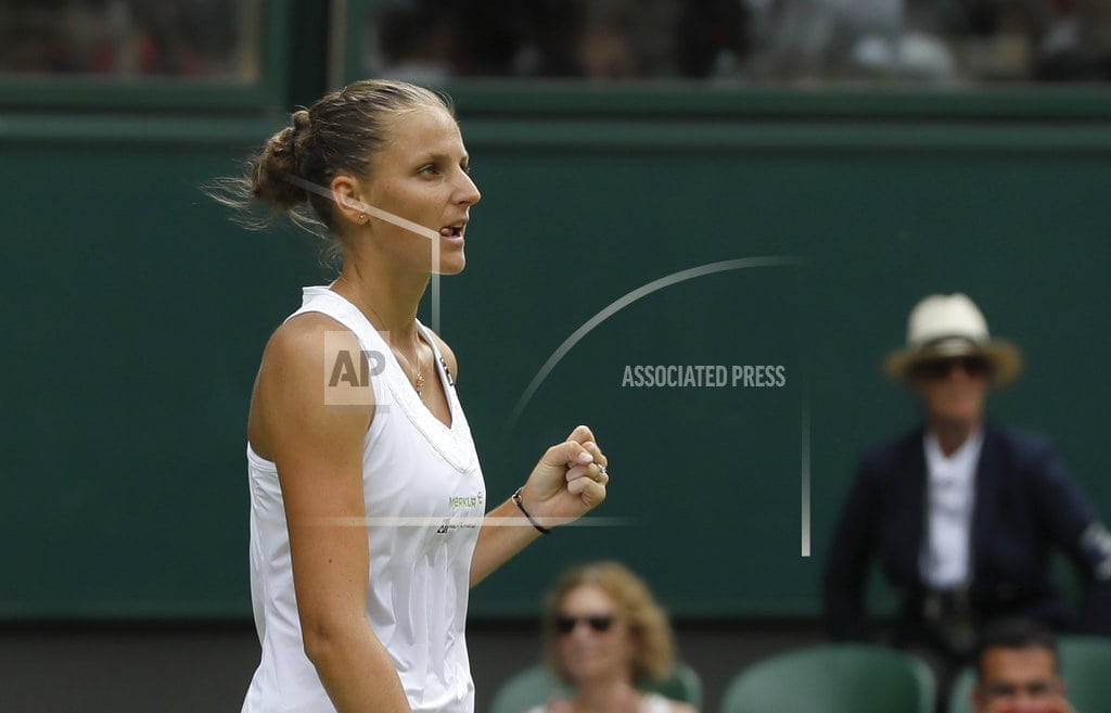 LONDON | The Latest: Rain ends play early on Day 3 at Wimbledon