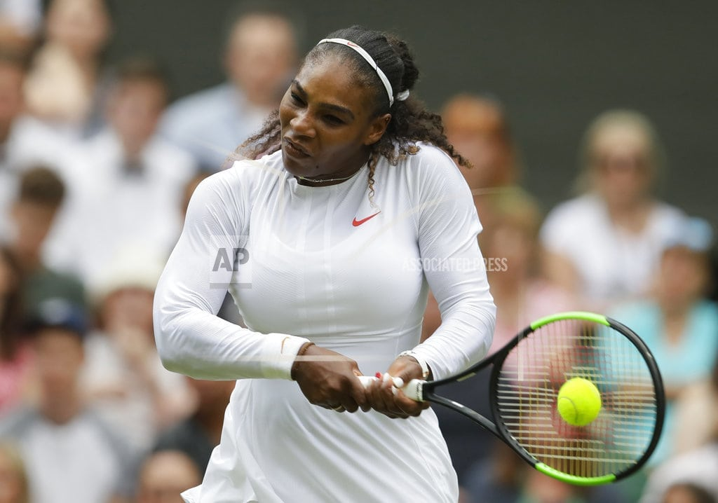 LONDON | Serena's marriage sparks Wimbledon debate over Miss and Mrs.