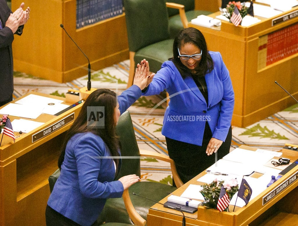 CLACKAMAS, Oregon | Black Oregon lawmaker: Police called as she knocked on doors