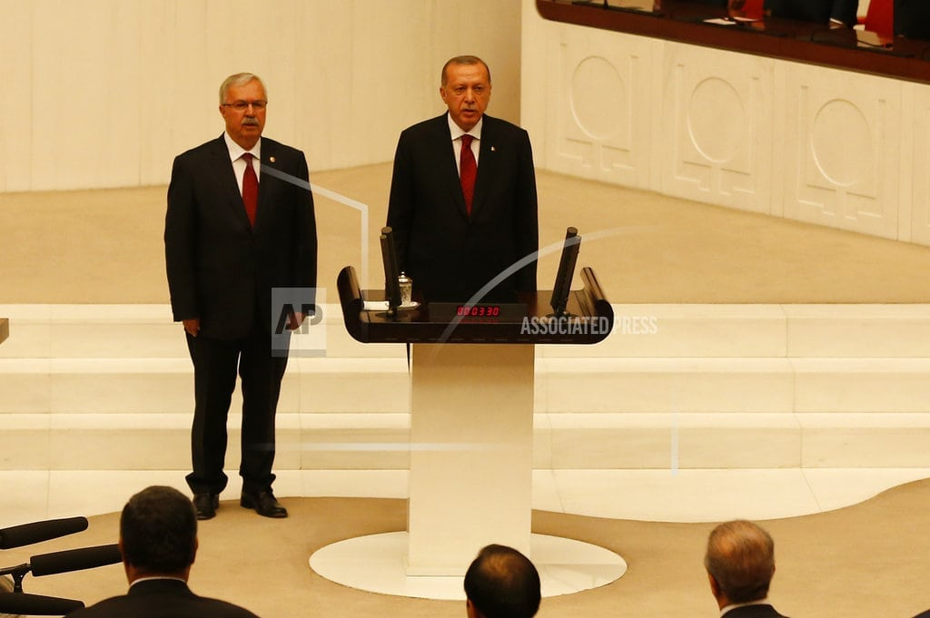 ISTANBUL | Erdogan names Cabinet for Turkish presidency with new powers