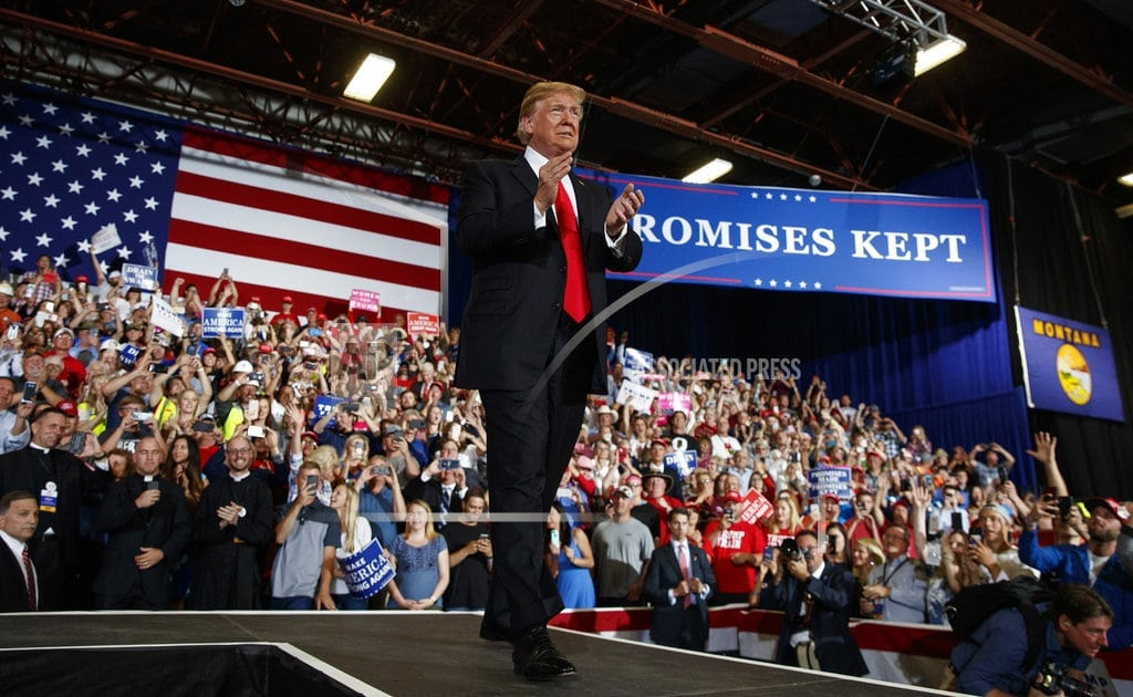 HELENA, Montana | Bishop criticizes priests who attended Trump rally as VIPs