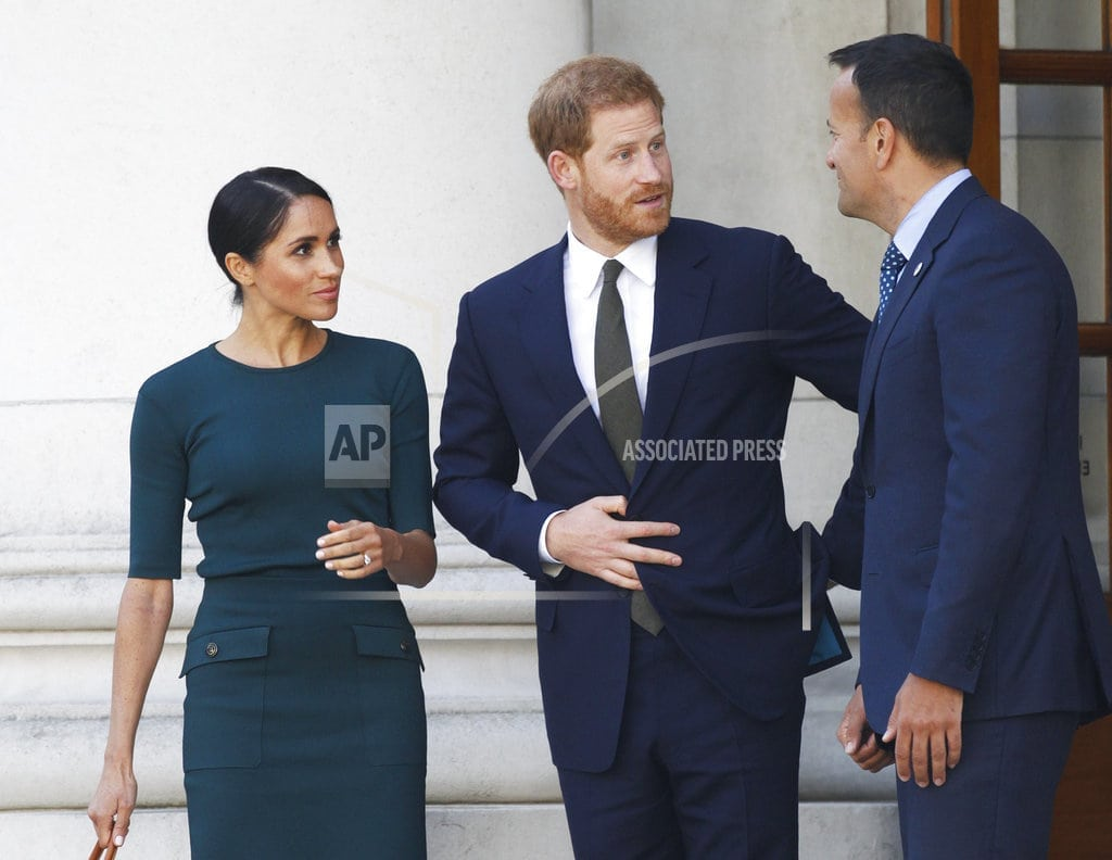 LONDON | Prince Harry, Meghan mobbed by royal fans on Dublin tour