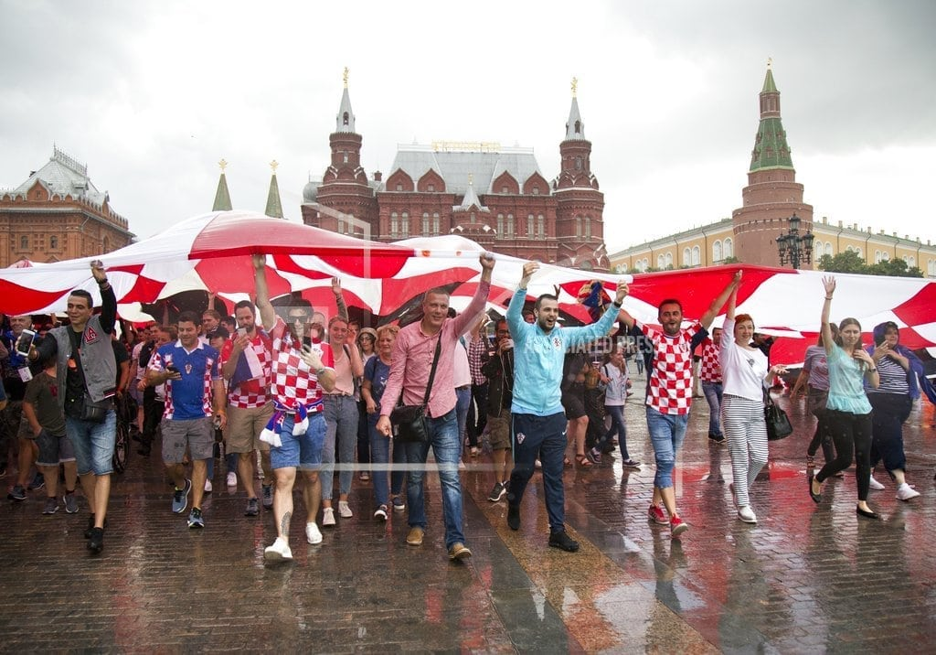 MOSCOW | The Latest: England kicks off vs Croatia in World Cup semis