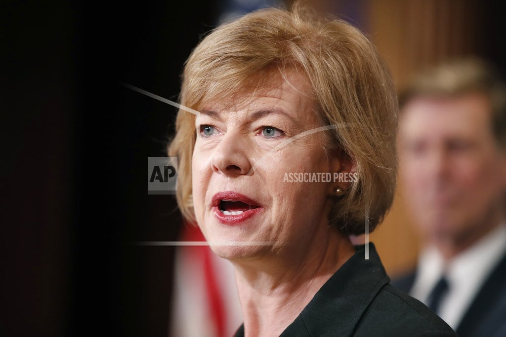 AP FACT CHECK: Claim against Sen. Baldwin exaggerated