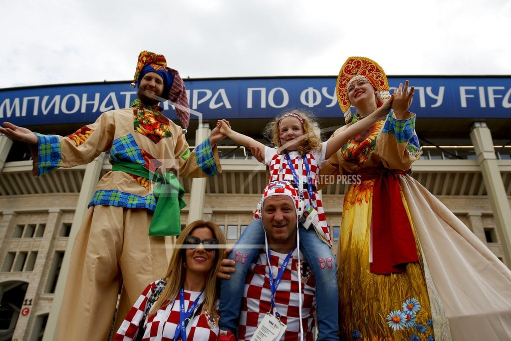 MOSCOW | Sexism tops racism as a World Cup fan problem in Russia